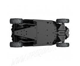 ENSEMBLE DE PLAQUES DE PROTECTION HMWPE Maverick X3 modèles 183 cm (72 po) de base